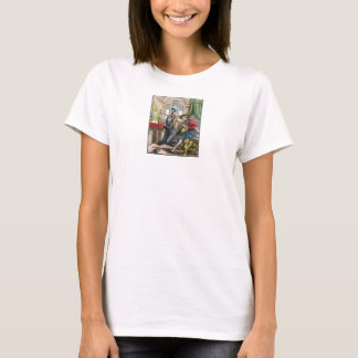 Dance of Death - The Nun - 1816 Color Print T-Shirt