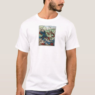Dance of Death - The Soldier - 1816 Color Print T-Shirt