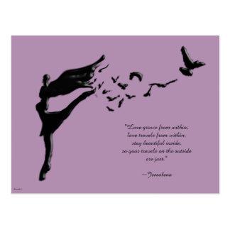 Dance Of Flight Postcard