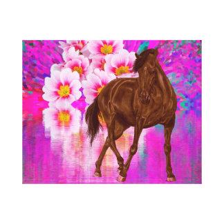 Dance of Sakura Canvas Print