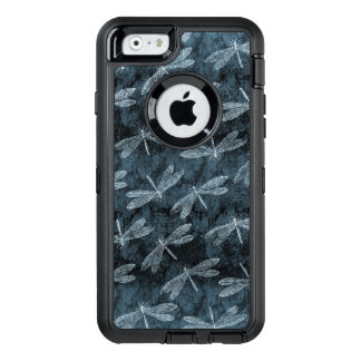 Dance of the Dragonflies Elegant Teal Green OtterBox Defender iPhone Case