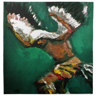 Dance of the Eagle Napkin