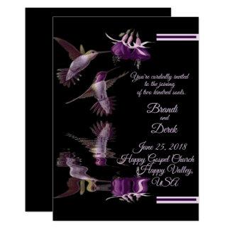 Dance of the Hummingbird Card