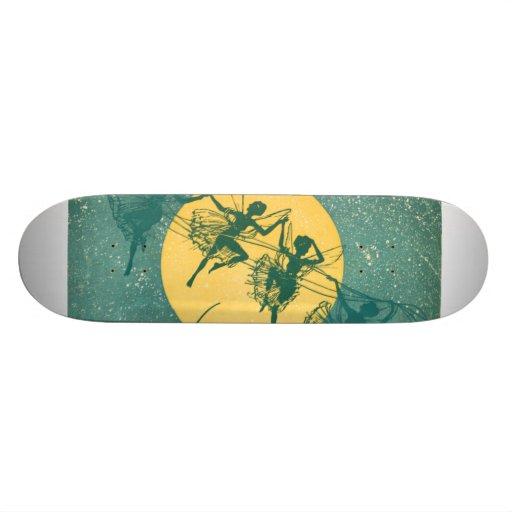 Dance of the Shadows--Fairies Skate Board