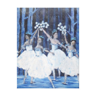 Dance of the Snowflakes Canvas Print