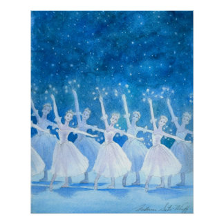 Dance of the Snowflakes Poster