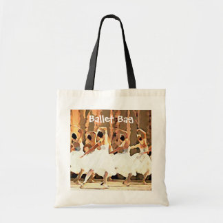 Dance On Stage White Tutus Ballet Tote Bag
