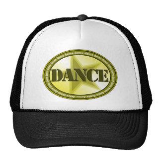 Dance Oval - Green Mesh Hats