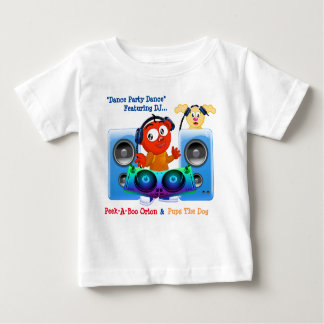 Dance Party Dance with DJ Peek-A-Boo Orin & Pups Tees