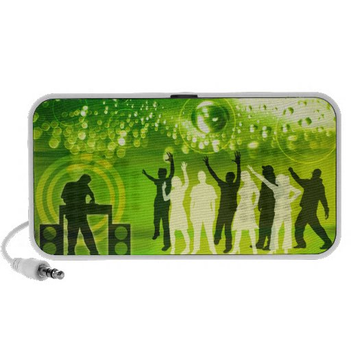 Dance Party Groove Portable Speakers