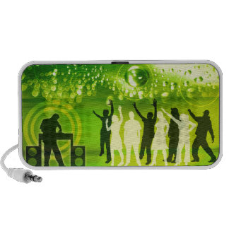 Dance Party Groove Travel Speakers