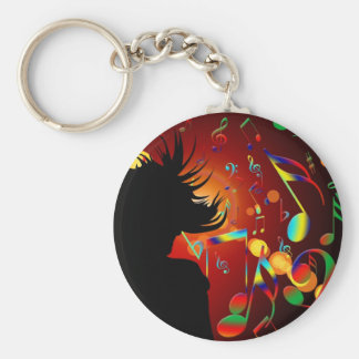 dance party key ring