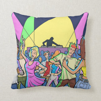 Dance Party Pillow Cushions