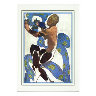 Dance Performance Ballet Recital Modern Art 13 Cm X 18 Cm Invitation Card