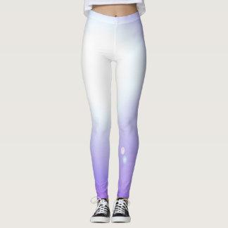 Dance Purple Leggings Fashion Workout Sports