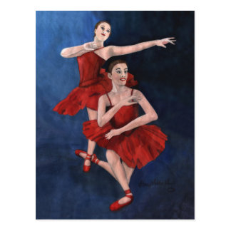 Dance Recital Invitation Postcard