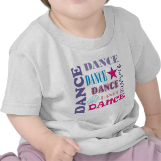 Dance Repeating T Shirts