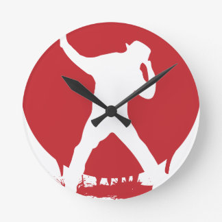 Dance Round Clock