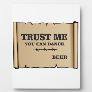 dance says beer photo plaques
