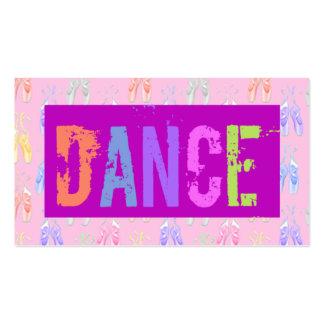 Dance School  Business Card