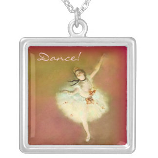 Dance! Silver Plated Necklace