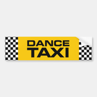 Dance Taxi (Ballet) Bumper Sticker