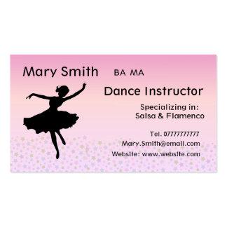 Dance teacher business cards 800 dance teacher busines for Dancer business cards