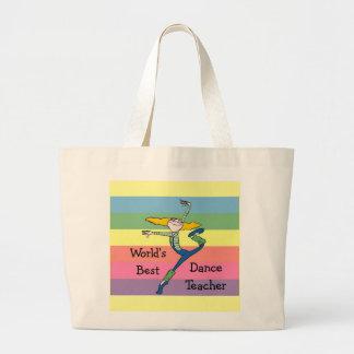 Dance Teacher gift Canvas Bags