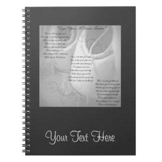 Dance Teacher Poem Spiral Note Book