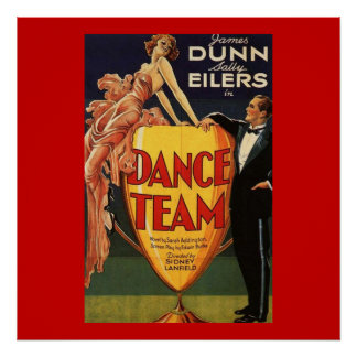 Dance Team Vintage Movie Poster 1932