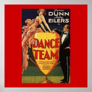 Dance Team Vintage Movie Poster 1932
