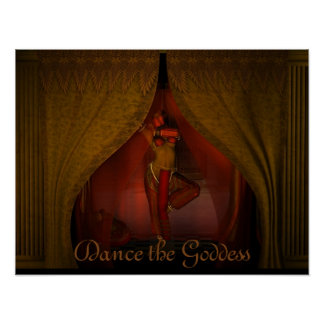 Dance the Goddess Poster