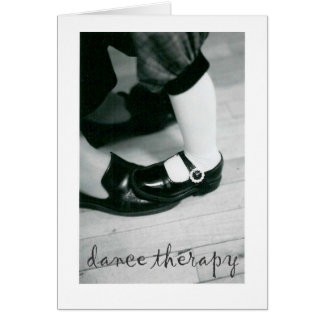 DANCE THERAPY CARD