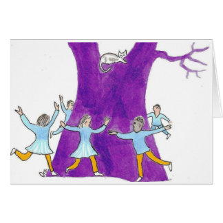 Dance till the tree says stop! card