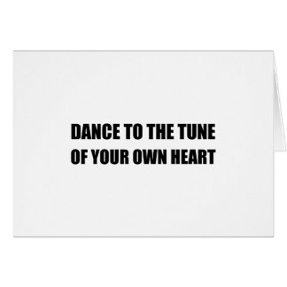 Dance To Own Heart Card
