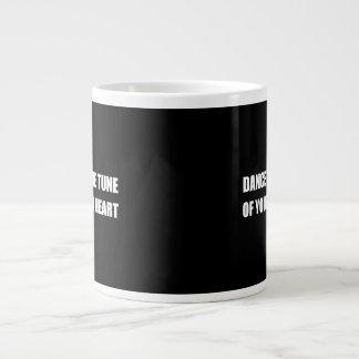 Dance To Own Heart Large Coffee Mug
