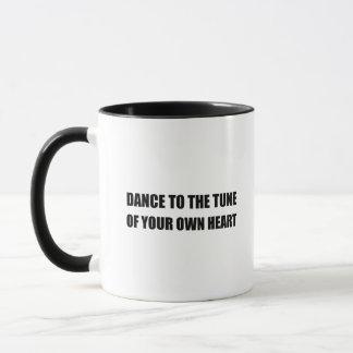 Dance To Own Heart Mug