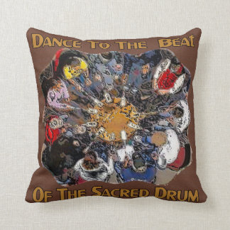 Dance to the Beat Throw Pillow