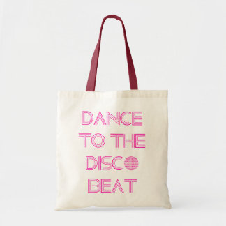 Dance to the Disco Beat Tote Bags