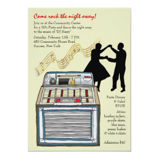 Dance to the Music Party Invitation
