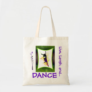Dance tote canvas bag