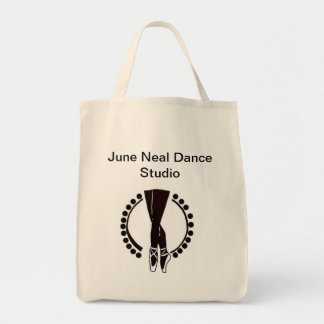 Dance Tote Grocery Tote Bag