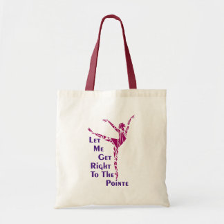 Dance Tote: To The Pointe