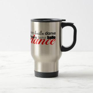 Dance Translation Stainless Steel Travel Mug