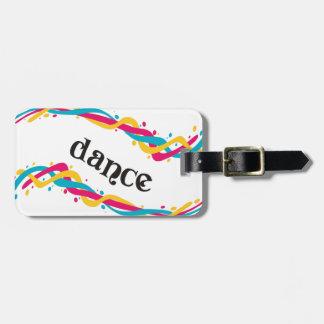 Dance Twists Luggage Tag