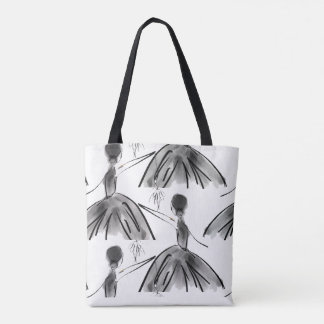 Dance with me Ballerina Tote Bag