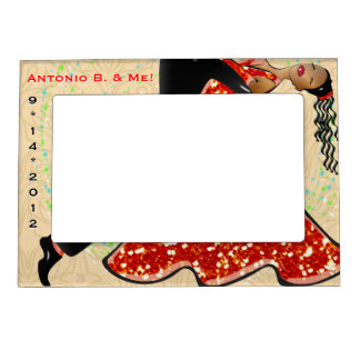 Dance With Me (Personalized) Magnetic Frame