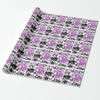 dance wrapping paper