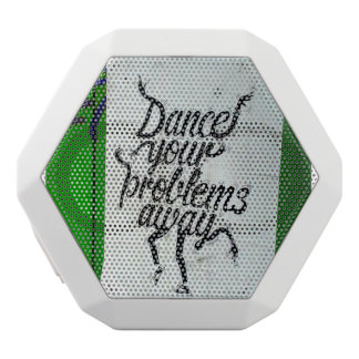 Dance your life Away - Street Art Speeker White Bluetooth Speaker