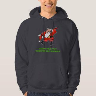 DanceChick Santa Dance Sweatshirts